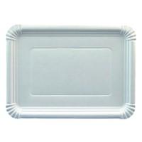 Papstar Pure Teller eckig weiß, 21,5 cm x 29 cm, 1 Packung = 25 Stück
