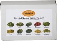 Sauna Kräuterkissen, Für das Dampfbad oder Verdampfergerät in Saunakabinen, 1 Set = 10 Kräuterkissen, gemischt