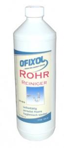 Rohrreiniger, flüssig, Reinigt selbstständig jeden Abfluss, 1000 ml - Flasche