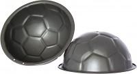 "WALTER Premium Backform ""Fußball"", Antihaft-beschichtete Backform in besonders schwerer Profi-Qualität, Ø 225 mm, Volumen: 2,5 l"