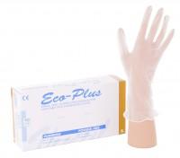"""Eco-Plus Einmalhandschuhe, Vinyl, ungepudert, Größe """"S"""" (6-7) - Packung = 100 Stück"""