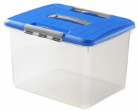 Curver Optima-Box XL, Aufbewahrungsbox mit Deckel, Fassungsvermögen: ca. 30 Liter