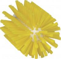 Vikan Rohrreiniger für Stiel, 90 mm, effektiv für die Reinigung verschiedener Rohre, Farbe: gelb