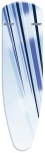 LEIFHEIT Ersatzbezug Air Active M blue stripes, Für den Aktiv-Bügeltisch Air Active M, 1 Stück