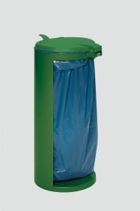VAR GmbH VAR Abfallsammler Kompakt-Junior, für 120 Liter Säcke, für den Außenbereich, Farbe: grün