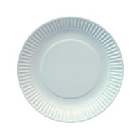 Papstar Pure Teller weiß extra stark, Durchmesser: 19 cm, 1 Packung = 25 Stück