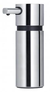 Blomus Seifenspender AREO, Aus poliertem Edelstahl, Kunststoff, Füllmenge: 220 ml