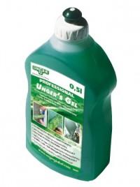 UNGER´S GEL Fensterreinigungs-Seife, Zum direkten Auftragen auf den Einwascher, 500 ml - Flasche