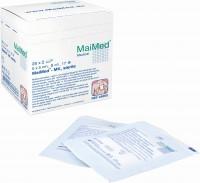 MaiMed® MK Mullkompresse steril, 8-fach Steril, 100% Baumwolle, 20 x 5 Stück, 7,5 x 7,5 cm, 8-fach-steril