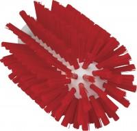 Vikan Rohrreiniger für Stiel, 77 mm, effektiv für die Reinigung verschiedener Rohre, Farbe: rot