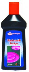 Weco GmbH Weco Glaskeramikreiniger, für alle Glaskeramik-Kochfelder, 1 Flasche = 250 ml 60012