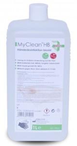 MyClean® HB Händedesinfektion biozid, Händedesinfektionsmittel auf Ethanol-Basis, 1000 ml - Flasche