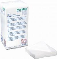 MaiMed® VK Vlieskompressen unsteril , gebrauchsfertige Vlieskompressen, 100 Stück, 7,5 x 7,5 cm, 6-fach