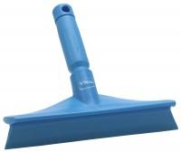 Vikan Ultra Hygiene Abzieher, 245 mm, mit Ministiel, Farbe: blau