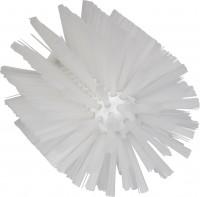 Vikan Rohrreiniger für Stiel, 103 mm, für die effektive Reinigung verschiedener Rohre, Farbe: weiß