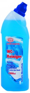 Weco WC-Reiniger, 1 Flasche = 1000 ml, Meeresfrische