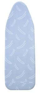 WENKO Bügeltischbezug Air Comfort, Extra schnelles und leichtes Bügeln mit Gegenbügeleffekt, Größe: XL, Maße: 140 x 45 cm, Farbe: blau-weiß