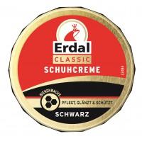 Erdal-Rex GmbH Erdal Schuhcreme Classic, mit echtem Bienenwachs, 75 ml - Dose, schwarz 100107