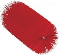 Vikan Rohrreiniger für flexiblen Stiel, 65 mm, für den Einsatz in Molkereien, Weingütern usw., Farbe: rot