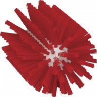 Vikan Rohrreiniger für Stiel, 90 mm, effektiv für die Reinigung verschiedener Rohre, Farbe: rot