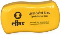 Effax Leder Sofort-Glanz, Glanz im Handumdrehen, 1 Dose mit Schwamm