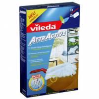 Vileda GmbH Vileda AttrActive, Staub-Fang-System, Starterkit = 1 Handgerät + 2 Nachfüller 111436