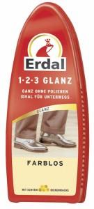 Erdal-Rex GmbH Erdal 1-2-3 Glanz-Schwamm mit Bienenwachs, Im Nu Glanz fALr alle Glattleder ohne Nachpolieren, 1 StALck reicht fALr etwa 70 Anwendungen, farblos 104068