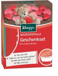 Kneipp® Badekristalle Geschenk - Set, Das perfekte Geschenk für alle Lebenslagen, 4 Beutel á 60 g