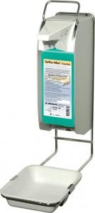 Touchless-Spender-System von B. Braun, Sensorgesteuerte berührungslose Händehygiene, für 1000 ml - Flaschen inkl. Auffangschale