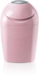 Sangenic Tec Windeltwister, Dreht Windeln einzeln in antibakterieller Folie ein, Farbe: pink