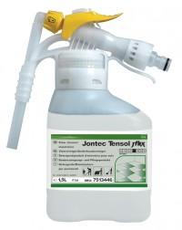 TASKI Jontec Tensol J-Flex, Polierbares Reinigungs- und Pflegeprodukt, 5 l - J-Flex-Kanister mit Gardena-Anschluss