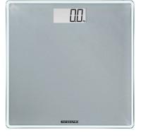 SOEHNLE Digitale - Personenwaage Style Sense Compact 300, LCD-Anzeige für gute Lesbarkeit des Gewichts, Ziffernhöhe: 2,5 cm, Farbe: grau