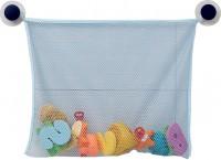 reer Badespielzeug-Netz, Praktische Aufbewahrung von Badespielzeug oder Pflegeutensilien, Maße: ca. 43 x 36 cm