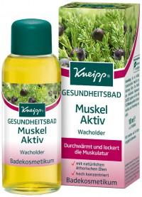 Kneipp® Gesundheitsbad Muskel Aktiv - Wacholder, Durchwärmt und lockert die Muskulatur, 100 ml - Flasche