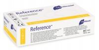 Meditrade Reference™ Latex Untersuchungshandschuh, Einmalhandschuh - Gepudert, unsteril, 1 Packung = 100 Stück, Größe L