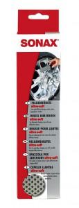 SONAX FelgenBürste ultra-soft, Gründliche Reinigung für Stahl-und Edelmetallfelge, 1 Felgenbürste /-schwamm