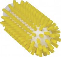 Vikan Rohrreiniger für Stiel, 50 mm, für die effektive Reinigung verschiedener Rohre, Farbe: gelb