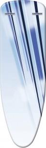 LEIFHEIT Ersatzbezug Air Active L blue stripes, Spezialbezug für den Leifheit Bügeltisch Air Active L, 1 Stück