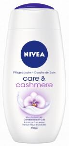 NIVEA Body Cleansing Pflegedusche, 250 ml - Flasche, Care & Cashmere