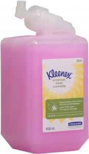KLEENEX® Normale Waschlotion, pink, parfümiert, vormals KIMCARE GENERAL, 1000 ml - Flasche