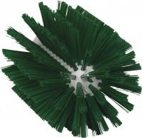 Vikan Rohrreiniger für Stiel, 103 mm, für die effektive Reinigung verschiedener Rohre, Farbe: grün