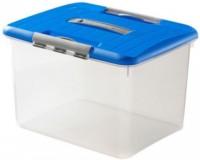 Curver Optima-Box, Aufbewahrungsbox mit Deckel, Fassungsvermögen: ca. 15 Liter (Größe L)