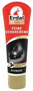 Erdal-Rex GmbH Erdal Feine Schuhcreme, 75 ml - Tube mit echtem Bienenwachs, schwarz 100444