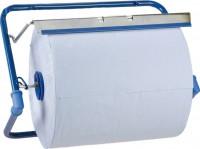 Kimberly Clark Deutschland GmbH KC Wandhalter fALr GroAzrollen, Metall, blau, MaAze: H 33 x B 51,5 x T 30 cm 6146