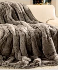 Gözze Edle Felloptik Wohndecke, 150 x 200 cm, 100 % Polyester , Design: Wolf