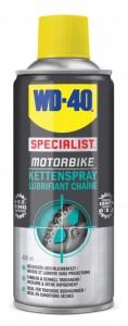 WD-40 Company Zweigniederlassung Deutschland WD-40 SPECIALIST® MOTORBIKE Kettenspray, Bietet eine dauerhafte Schmierung fALr die Motorradkette, 400 ml - Dose 56786