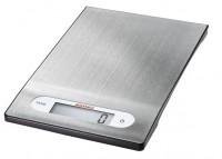 SOEHNLE Digitale Küchenwaage Shiny Steel, Hohe Tragkraft bis 5 kg, mit 1-g genauer Teilung, Hochwertige Edelstahl Wiegefläche