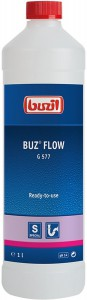 Buzil G 577 BUZ flow Rohrreiniger, Beseitigt Verstopfungen in Abflüssen, Rohren und Siphons, 1000 ml - Flasche