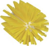 Vikan Rohrreiniger für Stiel, 103 mm, für die effektive Reinigung verschiedener Rohre, Farbe: gelb