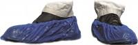 MaiMed® - Cover PE Schuhüberzieher, Farbe: blau, Größe: Länge 40 cm, 1 Packung = 100 Stück